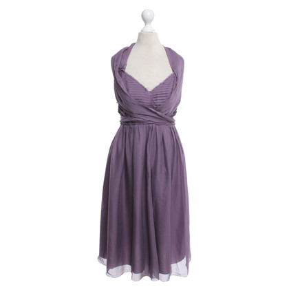 Philosophy di Alberta Ferretti Silk dress in purple