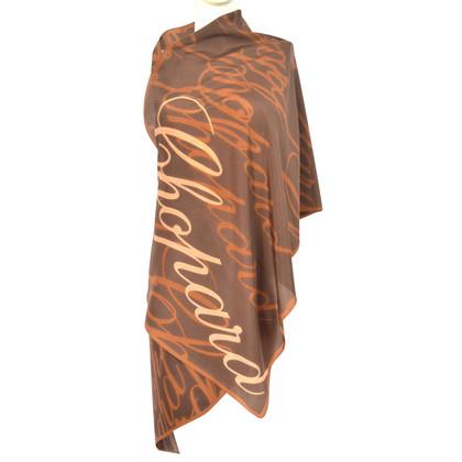 Chopard silk scarf with pattern