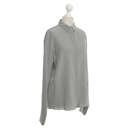 Schumacher Silk blouse in silver grey