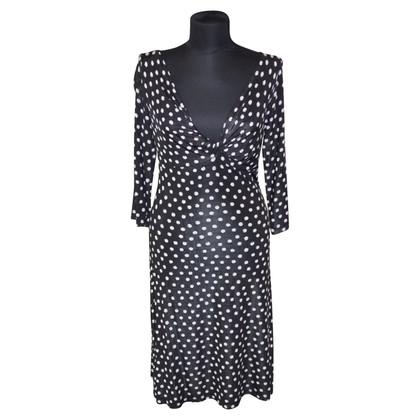 Piu & Piu Jersey dress with dots