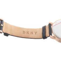 DKNY Mesdames montre en noir
