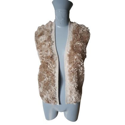 Prada Faux fur vest