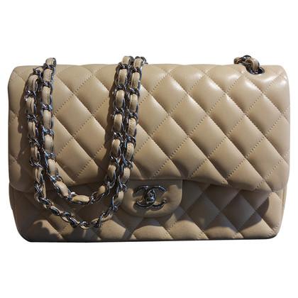 "Chanel ""Jumbo Flap Bag"" in beige"