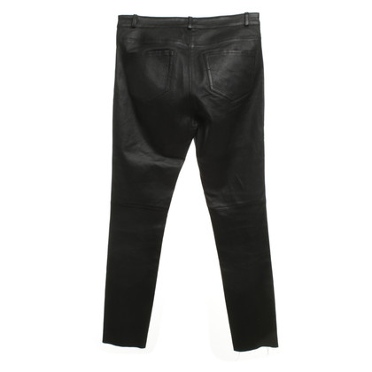 Joseph Leather pants in black