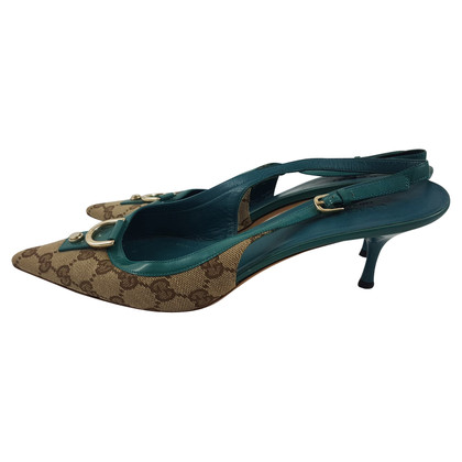 Gucci Slingbacks met patroon