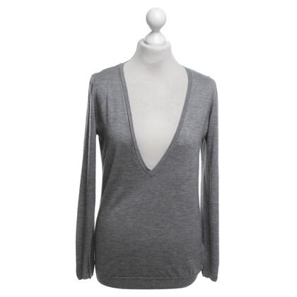 Brunello Cucinelli maglioni di cachemire in grigio