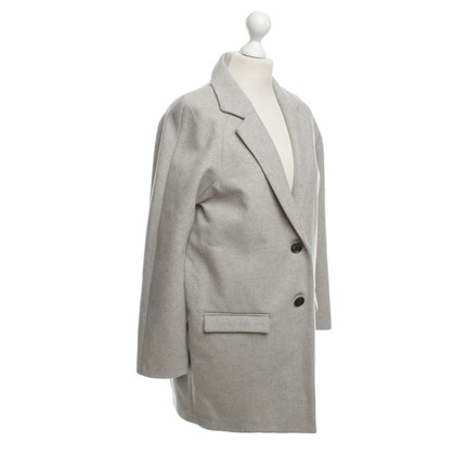 Calvin Klein Oversize coat in gray