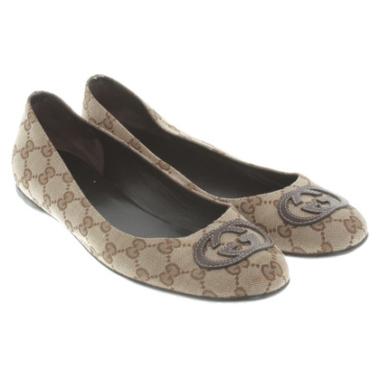 Gucci Ballerinas with Guccissima pattern