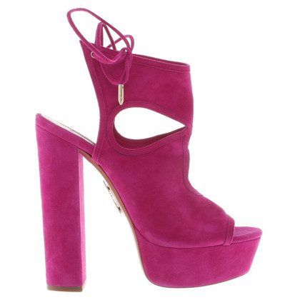 Aquazzura Sandals in fuchsia