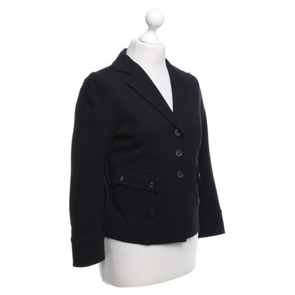 Strenesse Blue Blazer in Black