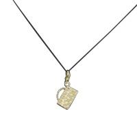 Chanel pendant yellow gold