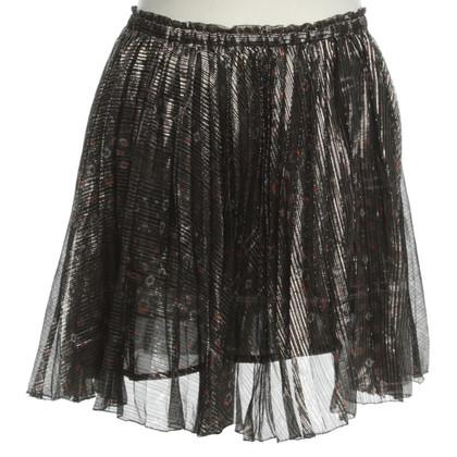 Isabel Marant Shining pleated skirt