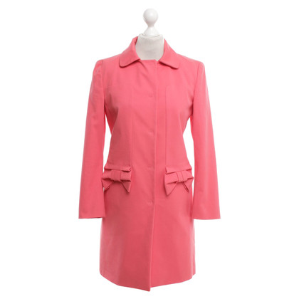 Red Valentino Coat in Coral Red