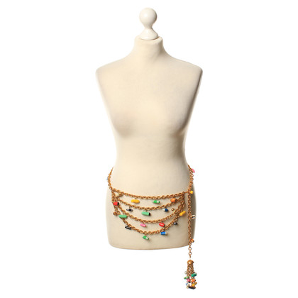 Chanel Girdle with colorful applications
