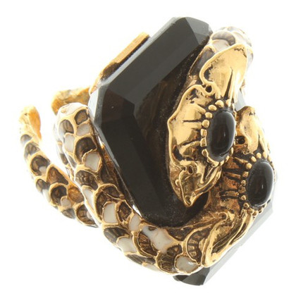 Roberto Cavalli Ring with onyx stone