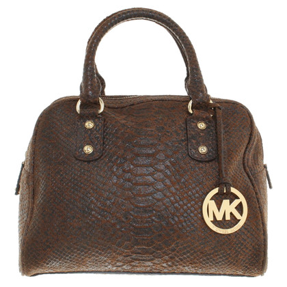 Michael Kors Handbag in reptile optics