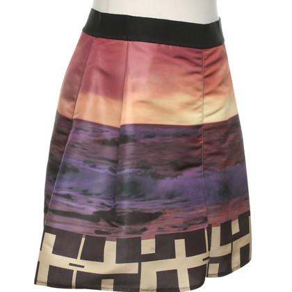 Pinko skirt with motif print