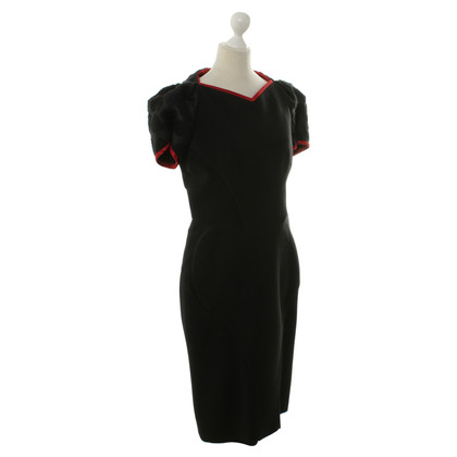 Aquilano Rimondi Sheath dress with puff sleeves