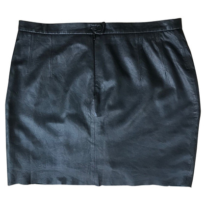 Zadig & Voltaire Leather mini skirt