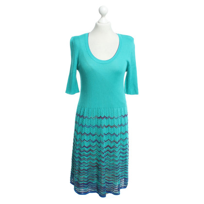 Missoni Dress in turquoise