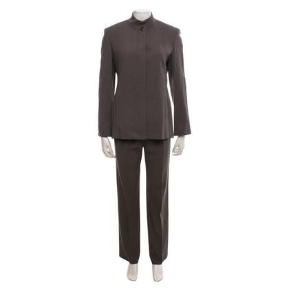 Max Mara Pantalon costume en brun clair