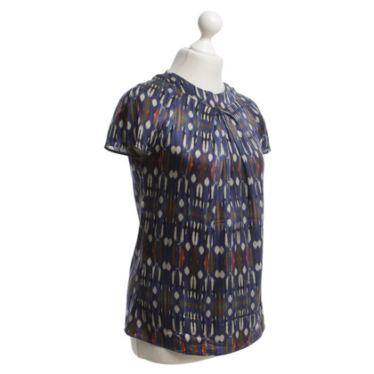 Etro Short sleeve blouse with pattern