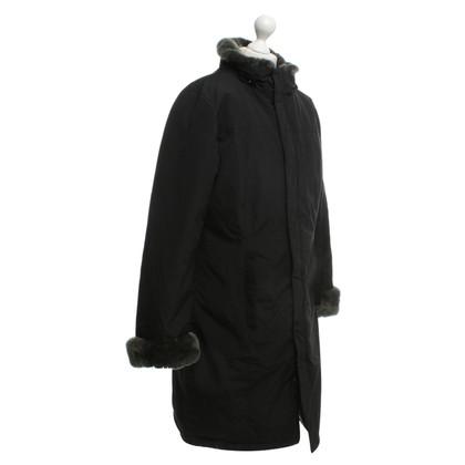 Woolrich cappotto invernale con bordo in pelliccia