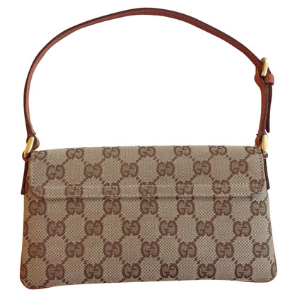 Gucci Pochette Gucci canvas and leather