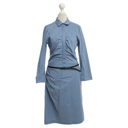 René Lezard Shirt Dress in Blue