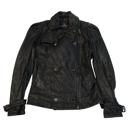 Mulberry biker jacket made of leather