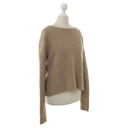 FTC Strick-Pullover in Beige