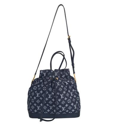 "Louis Vuitton ""Noefull MM Monogram Denim"" in blu"