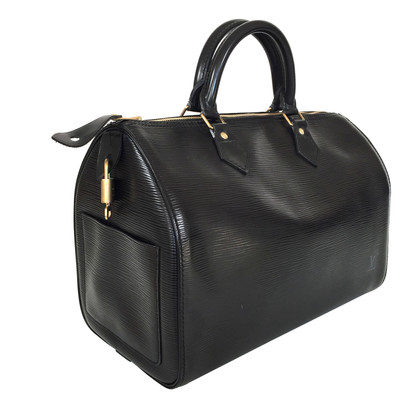 "Louis Vuitton ""Speedy 30 pelle EPI"" in nero"