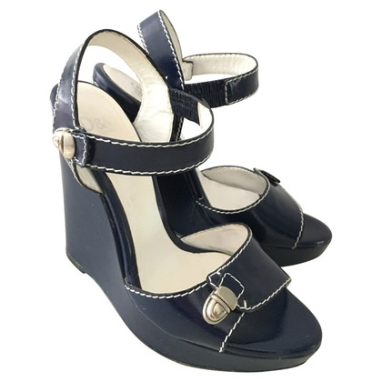 Dolce & Gabbana Wedges in dark blue