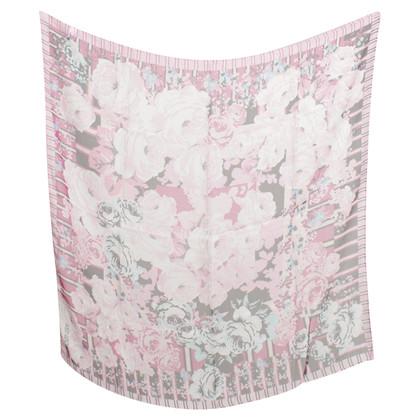 Kenzo Silk scarf with print