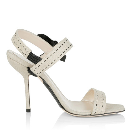 Christian Dior Sandalen gemaakt van linnen