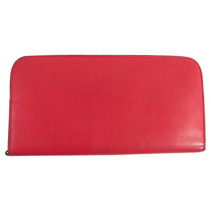 Christian Dior Rotes Portemonnaie