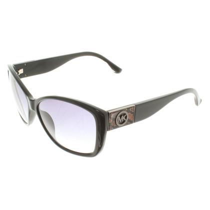 Michael Kors Schwarze Sonnenbrille