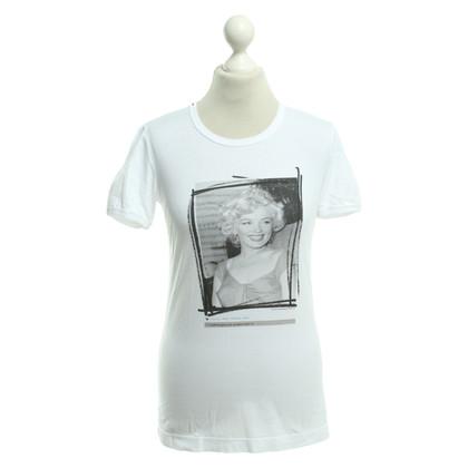 Dolce & Gabbana T-shirt in bianco