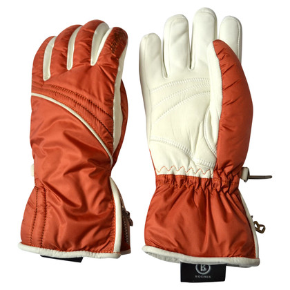 Bogner Ski gloves with leather
