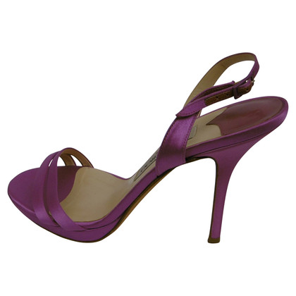 Jimmy Choo Sandals in purple