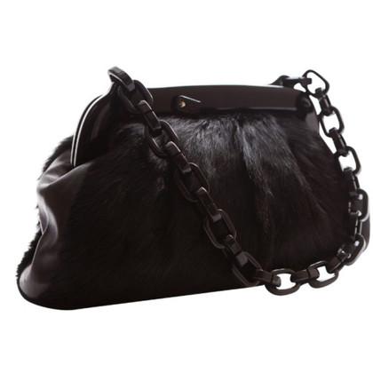 Chanel Handbag with fur trim