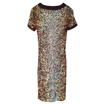 Blumarine Kleid mit Paillettenbesatz