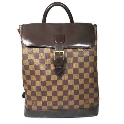 "Louis Vuitton ""Soho Backpack Damier Ebene Canvas"""