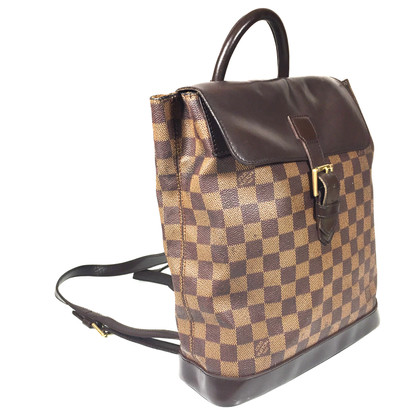 "Louis Vuitton ""SOHO rugzak Damier Ebene Canvas"""