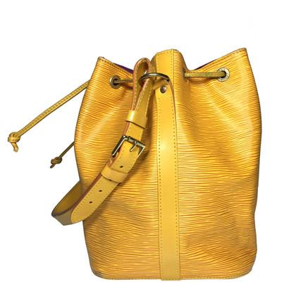 """Louis Vuitton """"Petit Noé EPI leather"""" in giallo"""