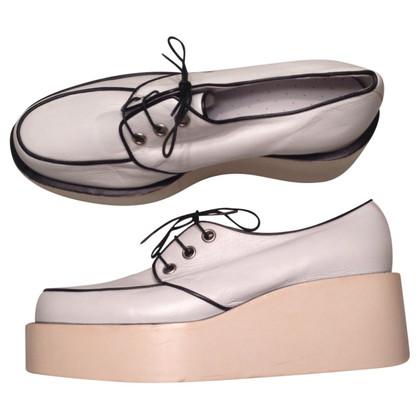 Jil Sander Derby schoenen met plateau