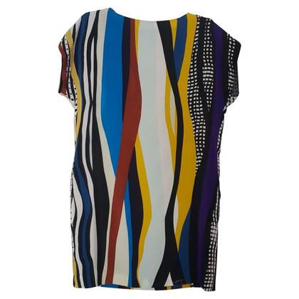 Diane von Furstenberg Abito camicia di seta