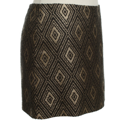 Milly skirt in black / gold