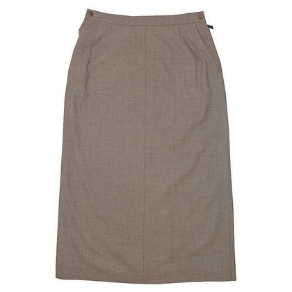 Hermès skirt wool